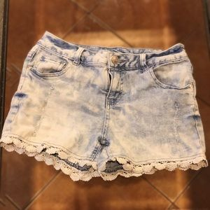 Justice Distressed Jean Shorts